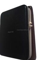 PU leather protective brand EVA custom hard shell laptop case