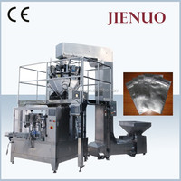 Automatic rotary zip lock bag filling machine