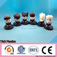 2015 custom plastic pvc mini action figures