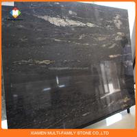 noblest cosmic black natural granite slab
