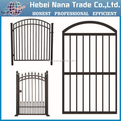 Hot sale steel main gate design for homes