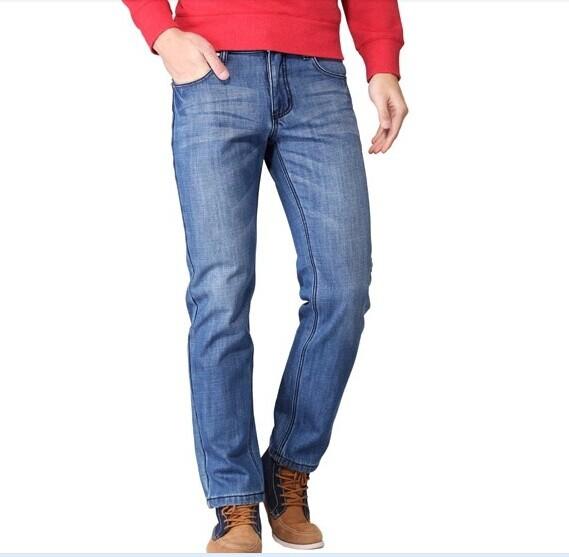 Guys in Light Blue Jeans Men Denim Light Blue Jeans