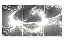 Hot Sale modern Abstract metal Wall arts 3d Wall Art Panels Abstract Metal wall sculpture for Home Decoration