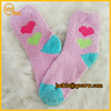 Colorful young girls warm fuzzy China custom sock manufacturer