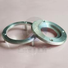 CNC Lathe Machining Custom Aluminum Rings With Internal and External Threads