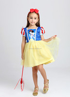 Popular SNOW WHITE cosplay costume fancy party dress for girls