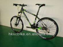 26'' mountain bike UD matt carbon fiber/MTB bicycle with SRAM X9
