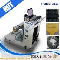 Desktop type China 2015 hot sale good quality fiber laser military dog tag machine