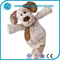 2015 new style lovely stuffed plush browm dog toy