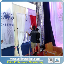 Portable Black Used Pipe & Drape/portable pipe and drape/adjustable fancy backdrop stand for wedding/events/exhibitions