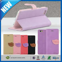 C&T New product universal sublimation leather flip cell phone case for iphone 6 plus