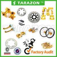 China made tarazon brand aluminum alloy cnc pit bike spare parts for suzuki