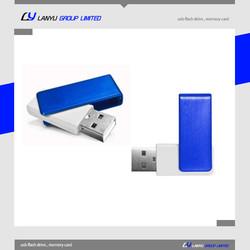 blue swivel usb memory stick , 2gb usb twister , promotional twister usb