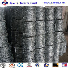 ISO9001:2008 Good Quality galvanized barbed wire/razor barbed wire fence for seal (manufacturer)