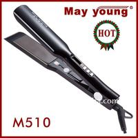 Hot sell professional digital LCD hair straightening irons