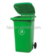 240 liter pure HDPE mobile garbage bin k-mart wholesale plastic trash bin tiles penang