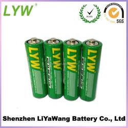 AA battery 1.5v aa r6 um3 carbon zinc battery