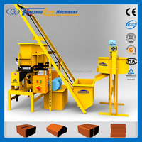 hydraform production line m7a2 clay interlocking block and brick making machine
