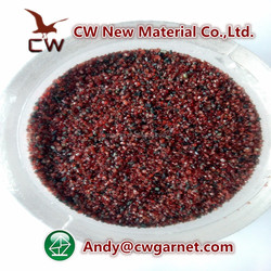Oil well / ship building used sandblasting abrasive 30/60 mesh garnet