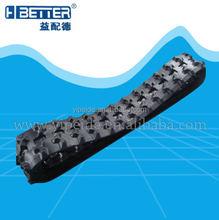 mini excavator and bulldozer rubber chain rubber track
