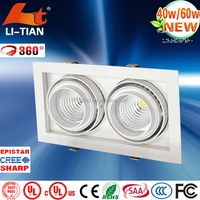 High power new design lampu downlight harga