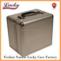 Tool Case Aluminum Metal Storage Hard Box Bag Carry Tote 12V Drill Impact