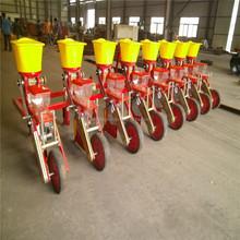 Tractor farming planter- no till corn seeder