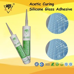 Chinese Factory suppier One Single Component Acetic Curing Silicone Glass Adhesive