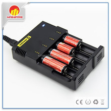 Nitecore i4 18650 Battery and Charger for NI-MH , AAA, nitecore d4 intellicharger i2/i4/d4