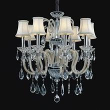 Elegant high-end fashion led crystal chandelier sitting room