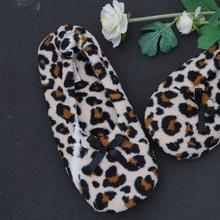 Seguridad tela de leopardo de impresión de la señora zapato casual