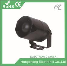 Hot sale ! 108-115dB 15W/20W wireless electric siren HC-S28 600mA/1200mA single tone/ 6-tone
