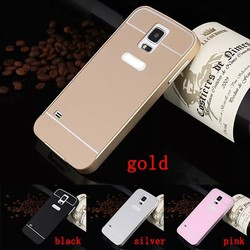 Luxury Aluminum Ultra-thin Metal Case Back Cover For Samsung Galaxy S5 SV i9600