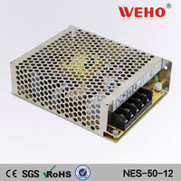 Metal case led ac power 12v regulated dc power supply
