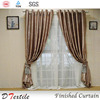 2015 newest blackout European style living room curtain ready made curtain wholesale finished curtain