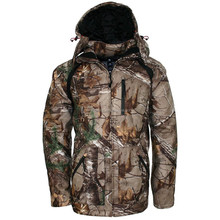 Waterproof breathable silent womens camo hunting jacket