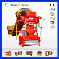 eco premium 2700 clay brick making machine / soil brick making machine in india / interlock brick making machine