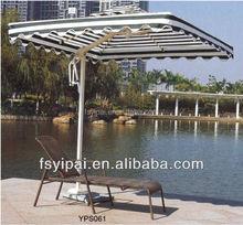 cheap aluminum rattan sun lounger for sale YPS061