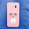 Silicone 3D Cute KAKAO FRIENDS Cartoon Cell Phone Case For SAMSUNG S6 S5 NOTE4 NOTE3