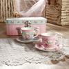100CC Elegant New Bone China tea cup and saucer