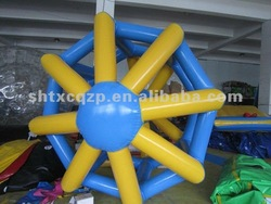 2014 factory supply inflatable water wheels