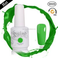high quality OEM bulk soak off gel nail polish , beautiful color UV gel nail polish