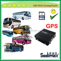 Geo-fence Control Device 1 Ch Mobile DVR HDD WIFI GPS UPS H 264 D1 3G