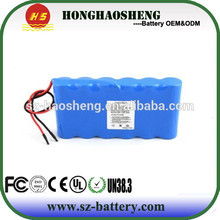 Favorite compare 12v 4000mah Lithium ion rechargeable battery for medical devices