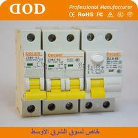 MCBs 6KA inner dz47 6A63amp two poles MCB electric circuit breaker inner dz47 circuito electrico con interruptor
