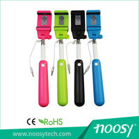 2015 Latest High Quality Low Price Cable Selfie Stick for Mobile Phones for iphone6 on sale