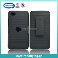 China supplier holster belt clip shell case for Blackberry Z30 with stripe pattern