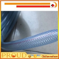 High Quality Reinforce Braided Flexible Garden PVC Water Hose