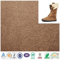 Plastic suede fabric shoes materials made in China