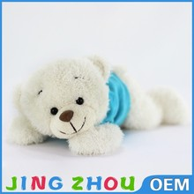 Prone posture plush bear toy ,super cute stuffed bear toy ,cute animal plush toy